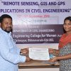 12.09.2016 : FDP on Remote Sensing, GIS and GPS Applications in Civil Engineering @ CE Dept.