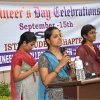 15-Sep : ISTE Student Chapter Engineers Day Celebrations