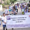"23.09.2017 : Awareness Campaign on ""Rally for Rivers\"""