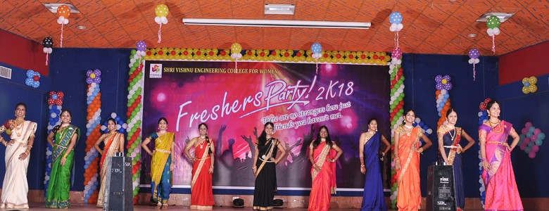 Celebrations of Freshers Day 2018