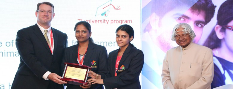Winner of All India Best Women Team in Texas Instruments Innovation Challenge India Design Contest 2015.
